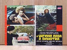 L'ULTIMA CASA A SINISTRA fotobusta poster Last House On The Left Car Sigar J12