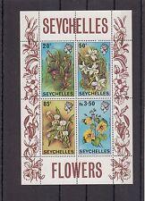 TIMBRE STAMP  BLOC ILES SEYCHELLES Y&T#1 FLEUR FLOWER NEUF**/MNH-MINT 1970 ~A27