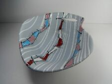 Fratelli Fanciullacci Mid-Century Modern Textured Pottery Bowl. Vintage Italy