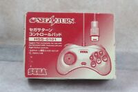 Sega Saturn SS Japan Official Gray Color Controller boxed Very good US Seller