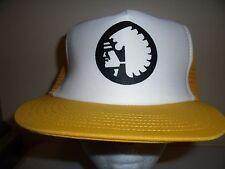 INDIAN TRIBE HEAD MESH SNAPBACK Baseball Cap Trucker Hat Retro Rare Unique Lid V