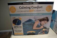Sharper Image Calming Comfort Kids Weighted Blanket 6lb w/ Duvet Cover New
