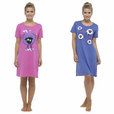 Cotton Short Nightdresses & Shirts for Women