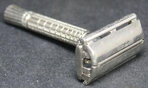 1961 Gillette Super Speed Flare Tip DE Safety Razor - G4 - NICE