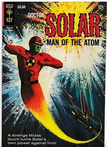 DOCTOR SOLAR MAN OF THE ATOM #14 1965 GRADED VG/FN SILVER AGE GOLD KEY