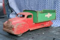 Lincoln Toy Phil Wood Dump Truck - Canada - pressed steel