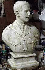 Custom made sculptures busts portraits statues wall plaques stage props, restore