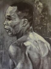 Stephen HOLLAND *1941 - sign + num Litho 54/60 1993 -  SUGAR RAY LEONARD - Boxer