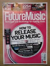 Future Music (March 2011) Moog Voyager XL, Novation UltraNova, Ableton, Computer