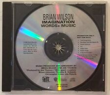 Brian Wilson- Imagination Words & Music- Promo CD