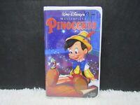 Pinocchio, Walt Disney's Masterpiece, Clamshell Case, VHS Tape