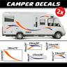 Camper Aufkleber Wohnmobil sticker Auto Dekoration caravelair globecar decals VW