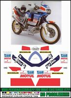 kit adesivi stickers compatibili xrv 650 africa twin rd 03 marathon