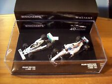 1/43 TWINSET WILLIAMS 40 YEARS 1978 FW06 ALAM JONES & 2017 FW40 FELIPE MASSA