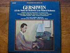 QSVBX 5132 GERSHWIN: WORKS FOR PIANO & ORCHESTRA SIEGEL/SLATKIN   3LP  TAS   NM