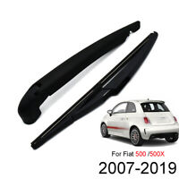 For Fiat 500 500X Ford KA Tailgate Rear Windshield Wiper Blade Arm Set