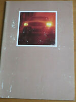 Prospekt  Mercedes R 107 -  350 SL   1972   Brochure