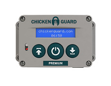 ChickenGuard Automatic Chicken Coop Door Opener ASTi Premium - Timer Sensor USA!