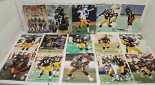 Lot of 15 Pittsburgh Steelers Authentic NFL 8x10 Action Pictures Photo File -L33