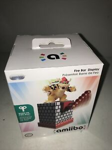 New Sealed Bowser's Fire Bar Amiibo Display PDP Official Licensed Nintendo