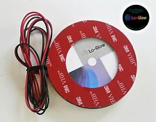 White LED Lo-Glow light Assessory for your 82mm BMW Emblem Roundal Badge