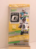 2020 Donruss Optic Football Factory Sealed Fat Cello Pack Burrow Herbert Rookie?
