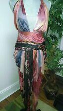 CATHERINE MALANDRINO  Womens silk/rayon harem jumper gorgeous
