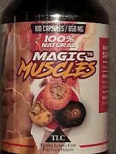 MAGIC MUSCLES - #1 RATED TRIPLE MACA MUSCLE & BOOTY BUILDING FORMULA 650mg