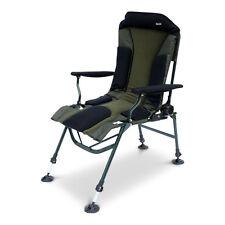ABODE® Carp Fishing Camping Folding Easy-Arm™ Long Leg Recliner Sport Chair
