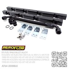 EFI BILLET ALLOY FUEL RAILS HOLDEN V8 304-355 INJECTED VN-VP-VR-VS-VT COMMODORE