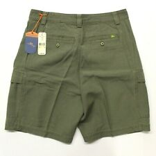 "Men's Tommy Bahama ""Key Grip"" Cargo Shorts - Moss Green - Tag Size 30"