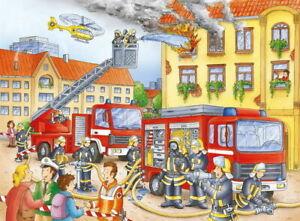 Ravensburger - Fire Brigade Puzzle 100pc