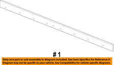 CHRYSLER OEM 11-16 300 Exterior-Rocker Panel Molding Trim Right 1LG56TZZAC
