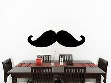 bigote Cuarto De Estar Comedor Infantil Adhesivo para dormitorio pared imagen 4