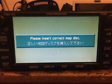 Toyota Navigazione/navigatore satellitare/CD/Radio B9000, B9001, Servizio di Riparazione B9003