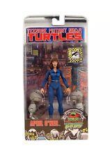 NECA Teenage Mutant Ninja Turtles TMNT 2009 SDCC Mouser & April O'Neil NIB