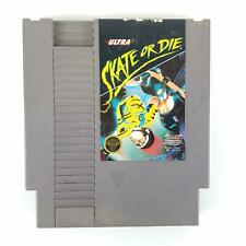 Skate or Die (Nintendo Entertainment System, 1990) Ultra NES Skateboard Thrash