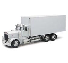 New Ray 1/32 Peterbilt 379 Utility Box Truck Diecast Model Truck White 10243