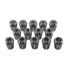 14pcs ER25 (3-16mm) Spring Collet Set For Workholding Tools High Precision