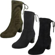 Bottes et bottines noir pour femme pointure 40