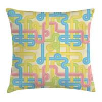 Nineties Throw Pillow Cases Cushion Covers Ambesonne Home Decor 8 Sizes