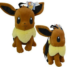Official Nintendo Pokemon Character Evee Soft Plush Washable Backpack 15in