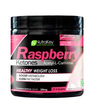 Nutrakey Raspberry Ketones Acetyl-L-Carnitine - 150 Servings (Healthy Weight Los