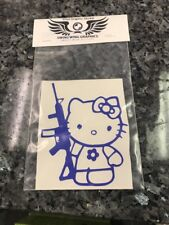 Hello Kitty riffle Vinyl Decal Sticker RC window Kalashnikitty Yeti PICK COLOR!
