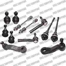 Front End kit Ball joint Tie rod end Pitman Idler arm Suspension Chevrolet GMC