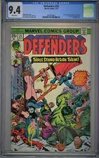 Defenders #25 CGC 9.4 NM Wp Marvel Comics 1975 Valkyrie Crucified Upside Down
