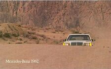 1982 Mercedes Benz  Sales Brochure 300SD 380SL mw2516-I5CJRS