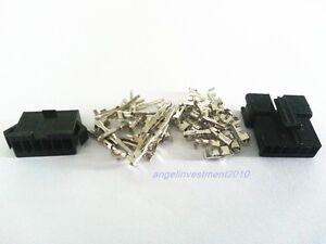 100sets JST 6 Way 6Pin SM 2.5mm Battery Connector Plug SM2.5 6P