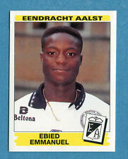 FOOTBALL 96 BELGIO Panini - Figurina-Sticker n. 20 -E. EMMANUEL-E. AALST-New