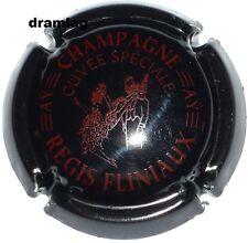 Capsule de Champagne : Nouvelle  FLINIAUX Régis , cuvée spéciale ,noir  et bord.